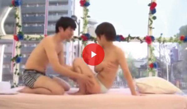 高梨あゆみがマジックミラー号で友達とやる動画