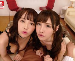【三上悠亜VR 橋本ありなVR】日本一のAV女優2人と超豪華ハーレム逆3P体験