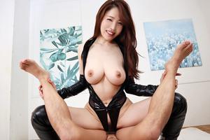 【凛音とうかVR】魅惑のフロントジッパー痴女VR レオタードとブーツの性癖ドストライク美女が目の前に!