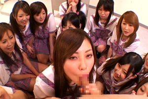 【横山美雪 愛斗ゆうき】制服美少女達がチ○ポを奪い合うハーレム学園!
