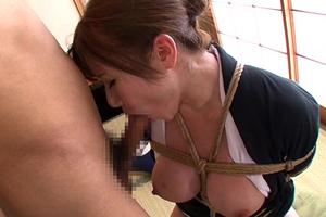 【千乃あずみ】未亡人を緊縛調教!目覚めるM女の変態性癖!