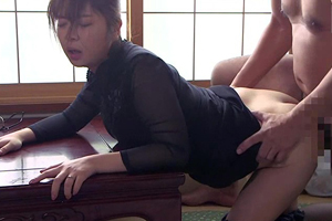 【尾上若葉】 償いは性奴隷化!無理やり犯して中出しされる巨乳妻!