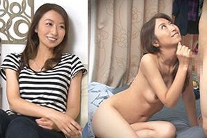 【熟女】最近ご無沙汰なモデル級の美人妻を自宅盗撮部屋に連れ込んでSEXに持ち込む!